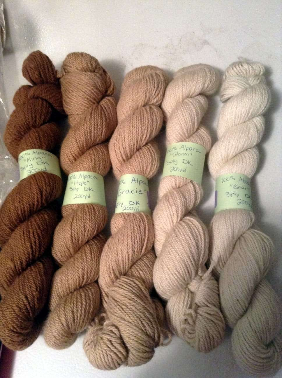 Blackberry Ridge Farm alpaca yarn - Wolcott, VT 05680