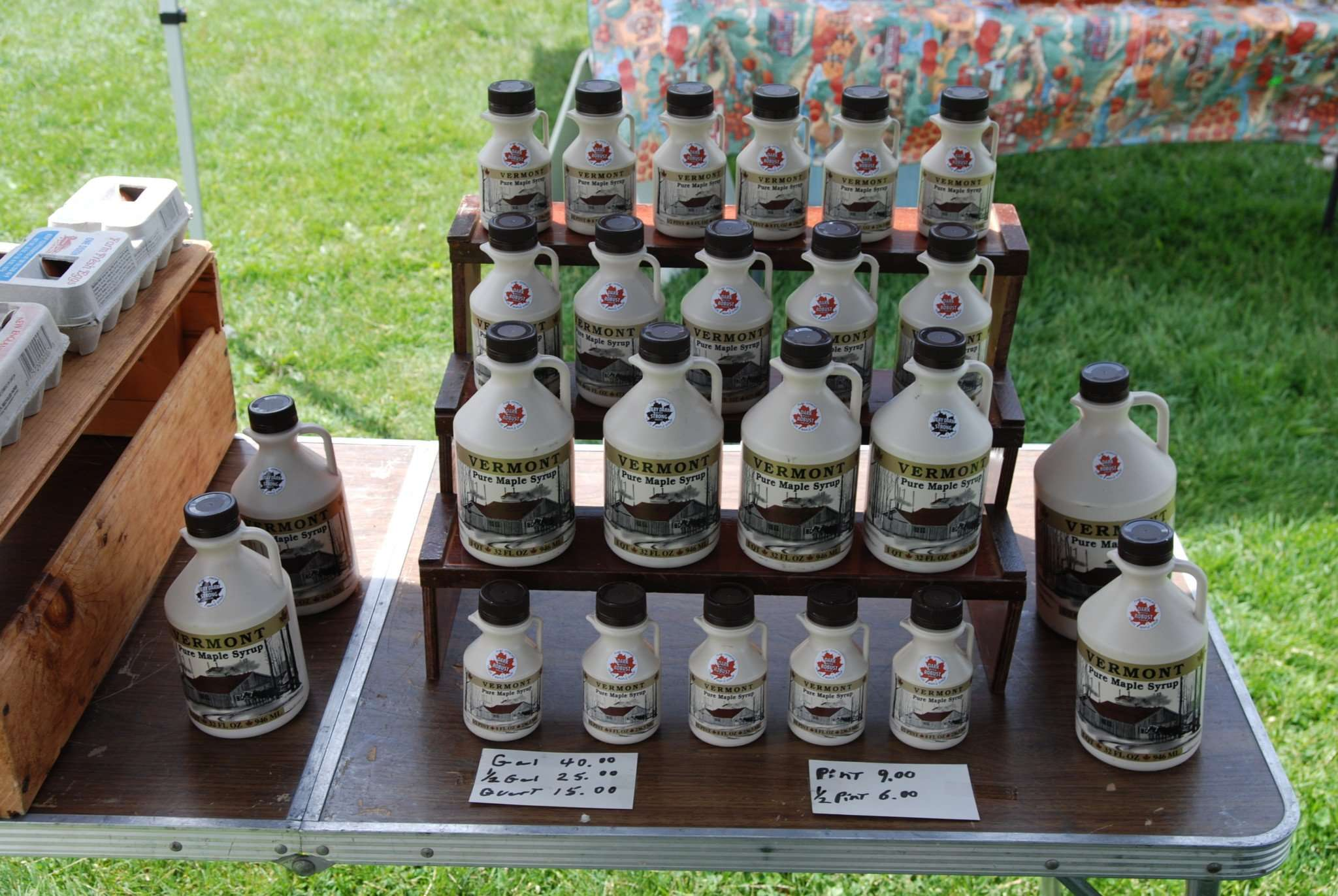 Craftsbury Farmers Market Vendor Products - Vermont Maple Syrup
