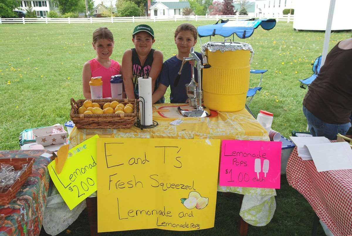 E & T's Fresh Lemonade - Craftsbury Farmers Market