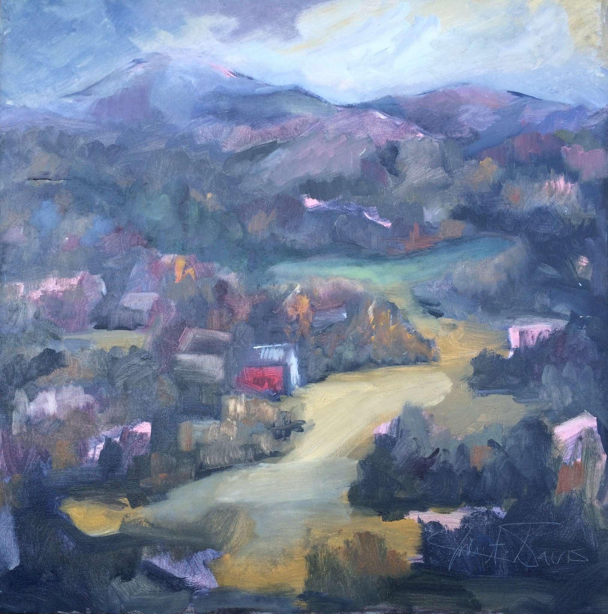 Julie A. Davis - Rugged painting