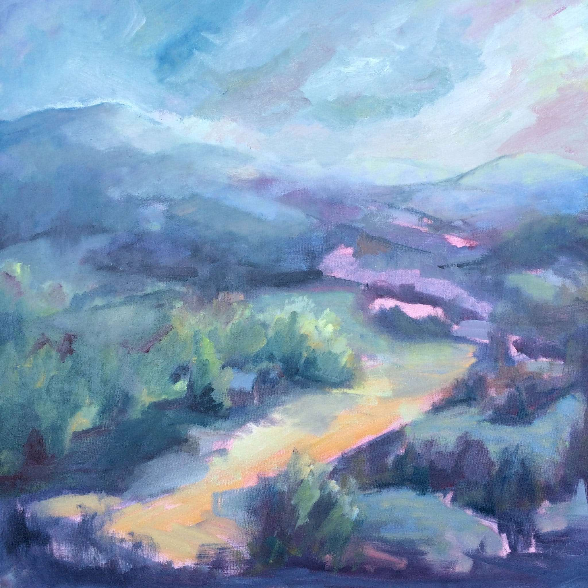 Julie A. Davis - Spring Mist - Craftsbury Farmers Market