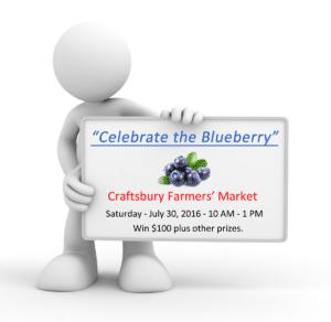 Celebrate the Blueberry - Craftsbury Farmers Market
