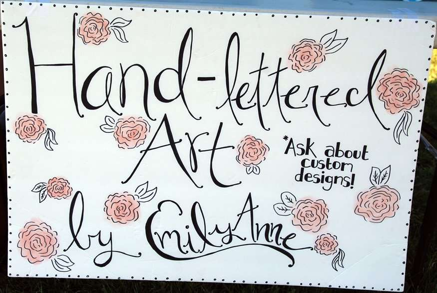 Emily Anne's Hand-Lettered Art