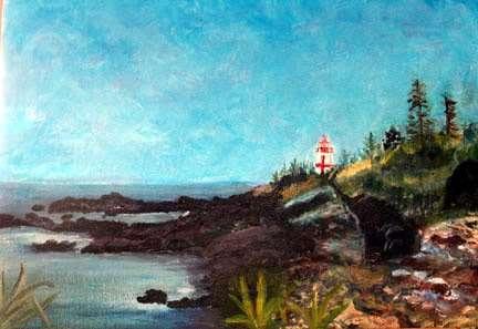 Donna Walsh Warren - lighthouse
