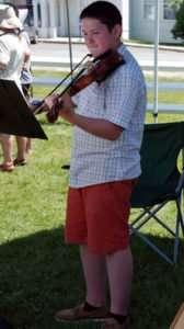 Nicholas Trevits - Violinist- Craftsbury Farmers Market