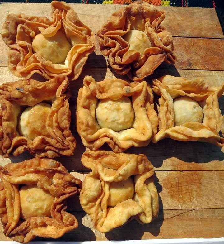 Pastelitos pastries by chef Alejandro Angio - Craftsbury Farmers Market