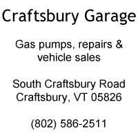 Craftsbury Garage - Craftsbury, VT