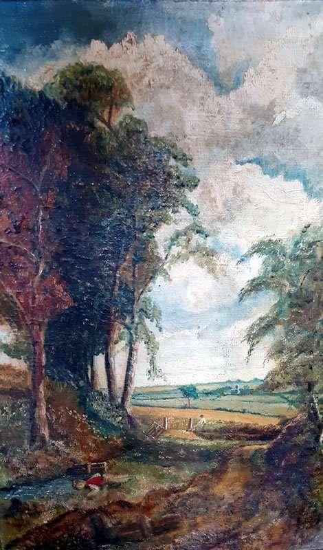 London Royal Academy style landscape - Jeremy Foster-Fell - Wolcott VT Artist